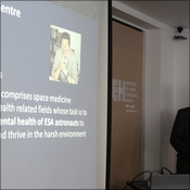 Dr Simon Evetts talking about Exploration Spaceflight