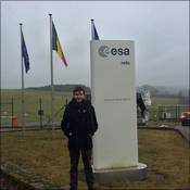 Alfred outside the ESA